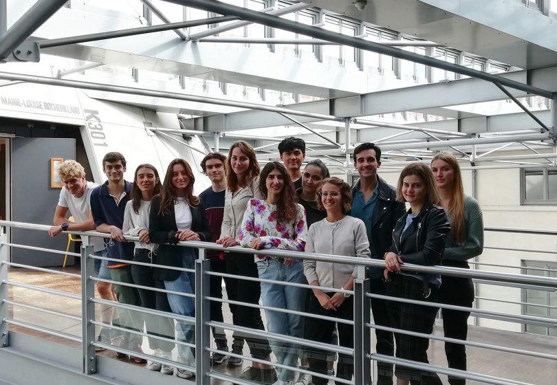 Etudiants échange ERASMUS+